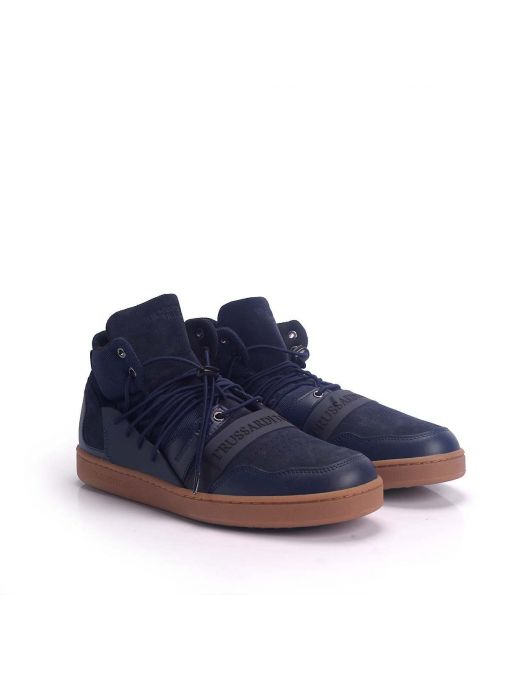 "Trussardi Jeans Sneakersy ""High Top"""