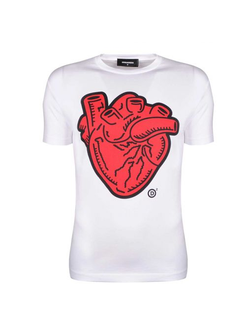"Dsquared2 T-shirt ""Heart"""
