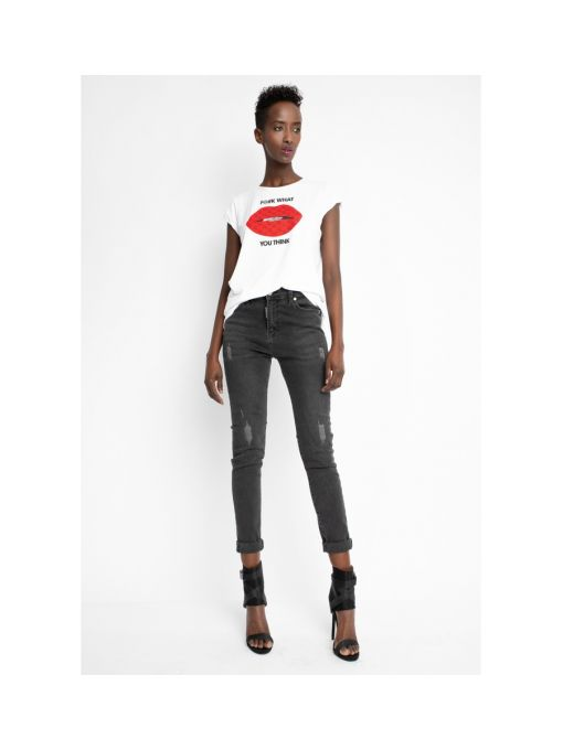 "Sugarbird T-shirt ""Light Us Me Lips"""